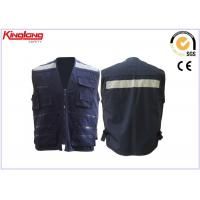 Unisex heavy duty worker Reflective Safety Vest with 5 cm reflective tapes Manufactures
