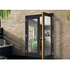 Buy cheap Aluminium Casement Door Powder Coating White / Black For Housing OEM from wholesalers