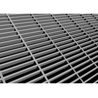 China 4'' 2'' Open Steel Catwalk Grating Metal Grill Flooring With Self Drilling Screw on sale