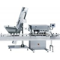 SS Frame Tablet Counting And Filling Machine Glass / PET Bottle Automatic Bottle Capping Machine Manufactures