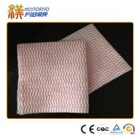Non Woven Fabric Household Cleaning Wipes , Antibacterial Dish Washing Cloths Manufactures