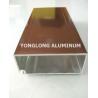 Buy cheap Sliding Wardrobe Aluminium Profile , Anodized Aluminum Structural Framing from wholesalers
