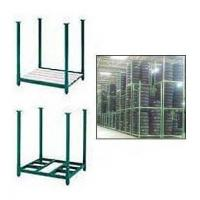China Industrial Portable Storage Rack Warehouse Metal Stack Pallet on sale