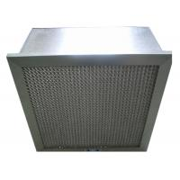 Disposable Hospital Hepa Room Air Filters , Pharmacy Deep Pleat Hepa Filter Manufactures