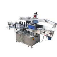 Round Bottles Double Side Sticker Labelling Machine For Beverage , Food ,Chemical