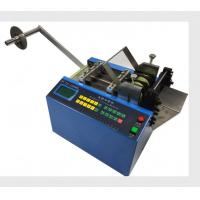 Heavy Duty Heat Shrink Sleeve Cutting Machine For Cutting Non - Adhesive Materials Manufactures