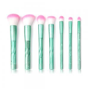 China Plastic Taklon Synthetic 7pcs Complete Makeup Brush Set on sale