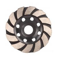 Cup Shaped Diamond Saw Blades For Concrete , Diamond Disc Cutter Blades Manufactures