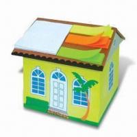 Cube Shaped Sticky Notepad, Available with Customized Designs, Shapes and Sizes Manufactures