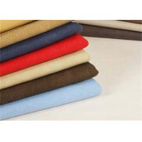 Garment Washed Canvas Fabric / Heavy Cotton Fabric Tear - Resistant Manufactures