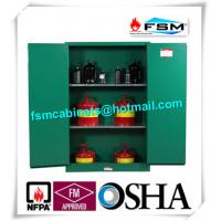 Fireproof 45 Gallon Hazardous Storage Cabinets Adjustable Shelf For Storing Dangerous Goods Manufactures