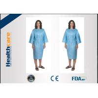 Quality PP 20Gsm Disposable Isolation Gowns 115x127cm , Disposable Hospital Theatre Gowns for sale