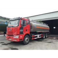 China FAW J6 6x4 Type 260hp~280hp 24000 Liter Fuel Tanker Truck With BF6M1013-28 Engine on sale