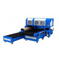 1500w 3 Phase CO2 Metal Laser Cutting Machine With Flat / Rotary Die Cutting Manufactures