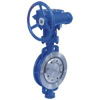 High performance triple eccentric butterfly valve Manufactures