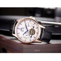Buy cheap Perfect Replica Omega Speedmaster White Tourbillon Face Rose Gold Smooth Bezel from wholesalers