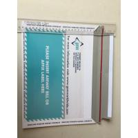 Cardboard Backed Envelopes High Precise Printing With Easy Tearing Tape Manufactures