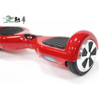 Red 350W Electric Drfit Scooter 2 Wheel Folding Electric Scooters For Adults Manufactures