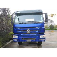 371 HP HOWO Prime Mover Truck , Tractor Head Truck Semi Truck Mover For Tansport Manufactures