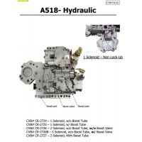 Buy cheap Auto Transmission A518 - Hydraulic sdenoid valve body good quality used original from wholesalers