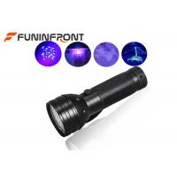 51 Lamp 395NM UV LED Flashlight Detector for Currency, Fluorescent, Search Amber