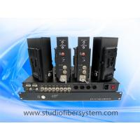 Cheap 4Port Datavideo ITC-100 over fiber optic system applied in OBVAN,OB trucks,and SNG vehicles system. Manufactures