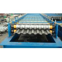 Color Steel Sheet Truck Panel Roll Forming Machine 10 Meters Length 8 T Weight Manufactures