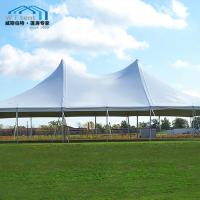 China Conjoined White Custom Made Tents UV Resistance Without Sidewalls on sale