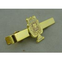 Promotional Gold Mens Tie Bar Cufflink Brass Tack By Die Stamped Manufactures