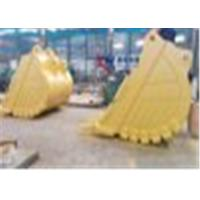 HARDOX500 Material Excavator Rock Bucket With Large Stowing Surface Manufactures