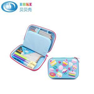 Custom Cartoon Colorful Lovely Portable Hard EVA Pencil Case For School Kids