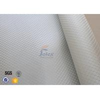 Satin Weave 220gsm Silver Coated Fabric Fiberglass Cloth Thermal Insulation Manufactures
