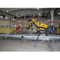 Polishing Engineering Plastics  Robot Linear Track / Grinding  Robot Rail System Manufactures