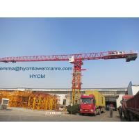 Large Load 20tons Topless Tower Crane PT8030 80M Jib Crane Length Manufactures