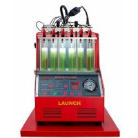 6 Cylinders Fuel Injector Cleaner Machine , High Efficiency Launch CNC602A Tester Manufactures