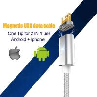 Newest fast charging usb3.1 type c cable magnetic cable connector micro usb cable for sale Manufactures