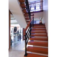 China Erosion Resistance Cast Iron Stair Railing Strong Structure Beautiful Elegance on sale
