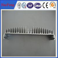 Aluminum LED Heatsink Profiles For Electronics/ extruded aluminum led tube heatsink Manufactures