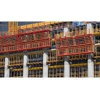 Anti corrosion Concrete Wall formwork scaffold , construction formwork with H20 Timber Beam Manufactures