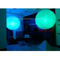Quality Outdoor Inflatable Lighting Decoration White Lighting To Coloured Lighting In One Wink for sale