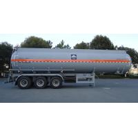Buy cheap HZZ9401GFW Corrosive goods  tank truck safe transportation 35m3 from wholesalers