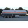 HZZ9401GFW 3 Axles Semi Trailer Truck Safe Transportation 35m3 for sale