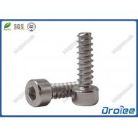 China 304 / A2 Stainless Steel Hex Socket Cap Head Tapping Screw for Plastic on sale