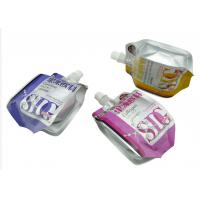 Lightweight Laundry Liquid Pouch With Spout For Packaging , 8.6mm / 9.6mm Dia Manufactures