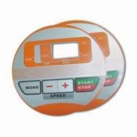 Adhesive Label, Made of GE PET Material, with 35V DC Electrical and 0.1mm Thickness Manufactures
