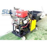 China Color Changeable Spraying And Plastering Machines High Efficiency 12HP 5MPa on sale