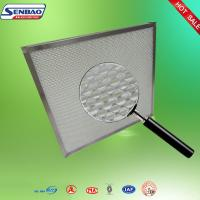 Stainless Steel Frame Mini Pleated Panel Air Filter Room Small Hepa Filter Manufactures