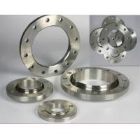 "1/2"" - 60"" Forged Alloy Steel Pipe Flange A182 A350 , ASTM A182 F5 / F9 / F11 Manufactures"