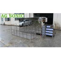Large Industrial Ultrasonic Engine Cleaner 360L 28khz For Engine Block Car Parts Manufactures