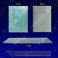 Buy cheap Al+bubble+Colored Foil  Heat Insulation Sheet from wholesalers